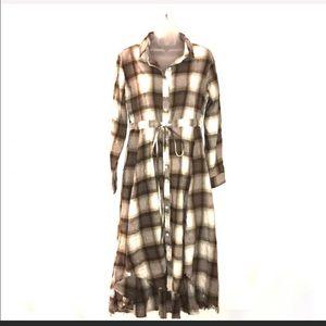 Jodifl plaid dress